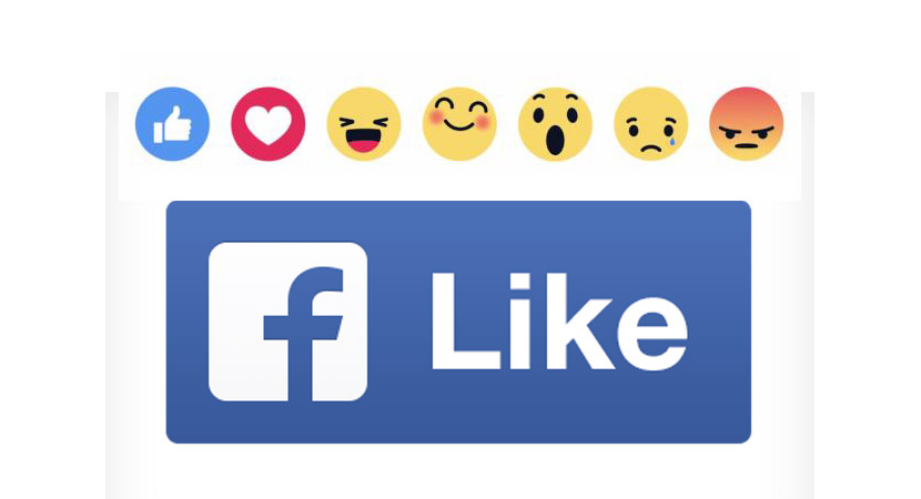 Reactions. Facebook